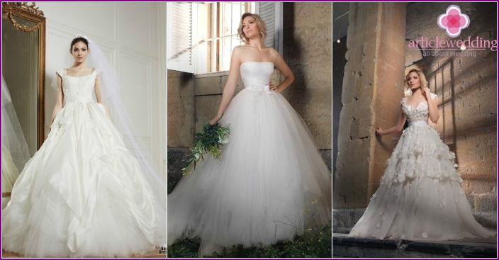 Photo: Lacy wedding ball gowns 2016