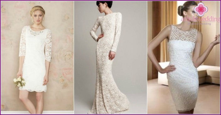 Dresses-cases for the bride