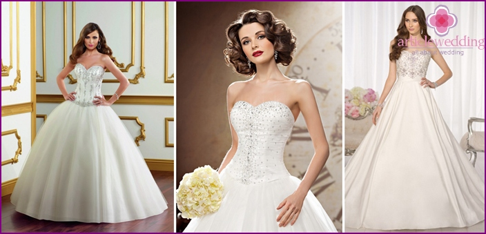 Lush bridal gowns
