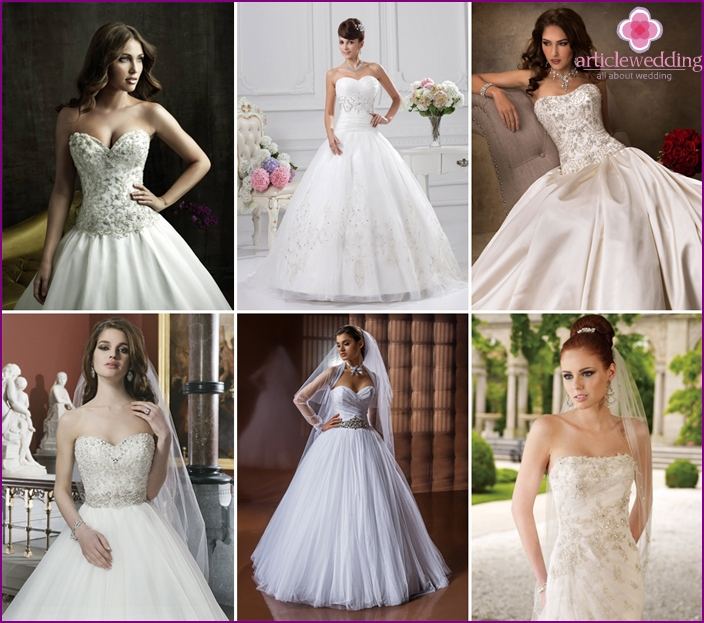 Wedding styles, fashion in 2016