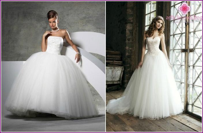 Wedding Dresses Ball type: Photo