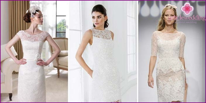 Direct apparel for brides