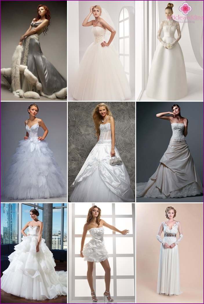 Beautiful bride dresses