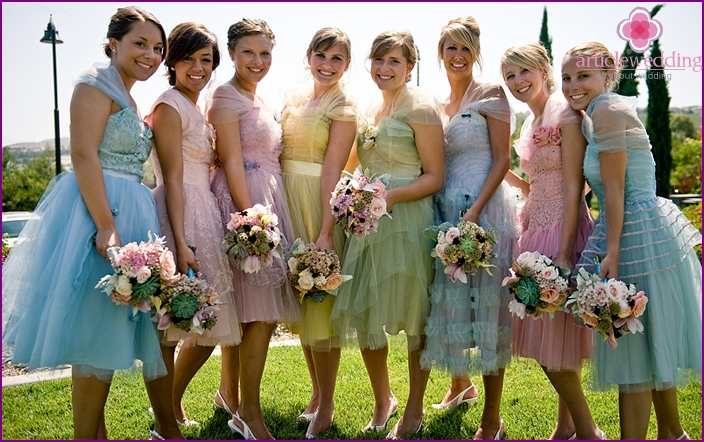 Possible dresses for wedding guests