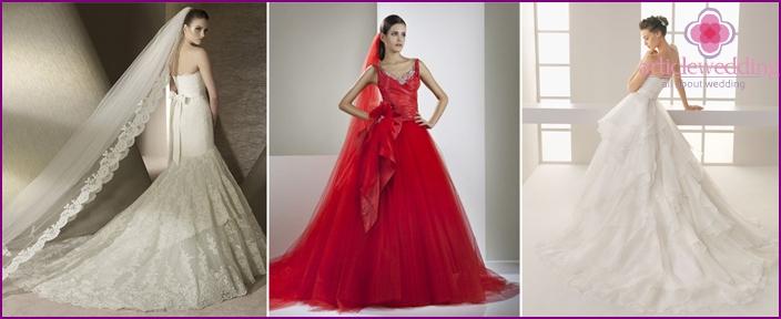 Spanisch Brautkleider - Mode-Stile 2016 Tipps zur Auswahl, Fotos