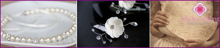 Wedding accessories in a style year