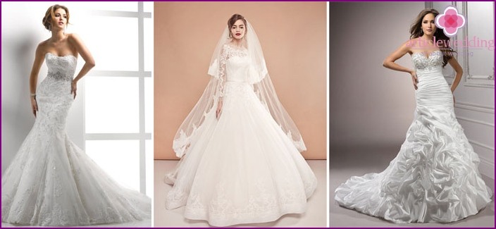Wedding dress, custom-made