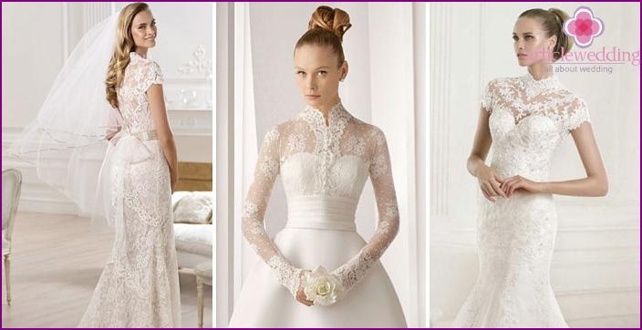 Lace bolero for bride