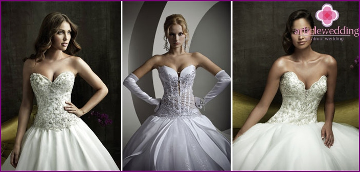 Wedding finery bride