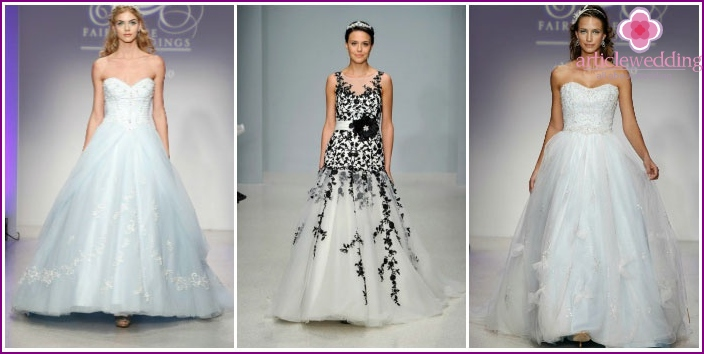 Photo collection from the fashion house Alfred Angelo