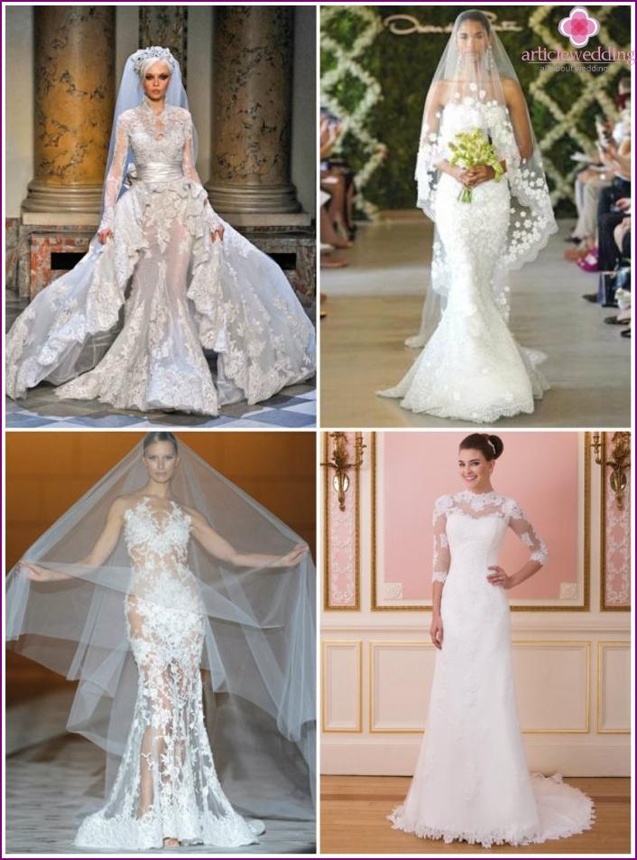 Designer dresses, haute couture