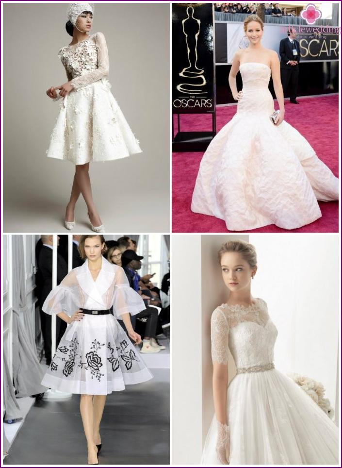 Wedding dress by Dior