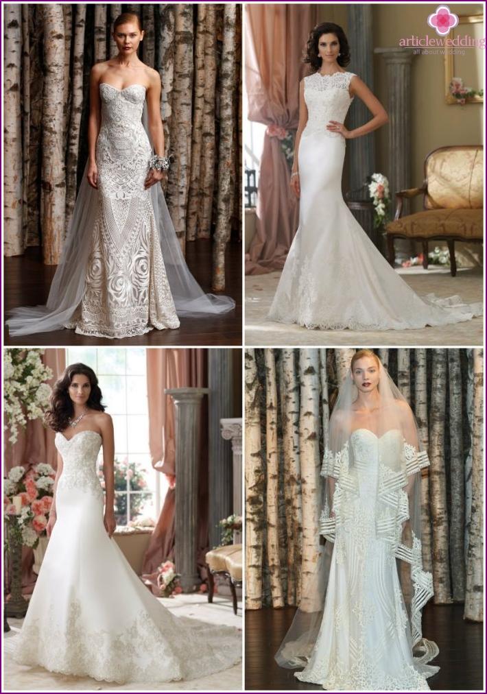 Dresses for the bride from Naeem Khan