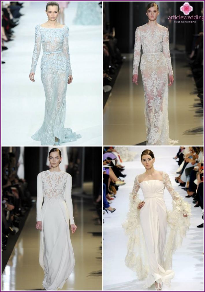 Bride Costumes from Elie Saab
