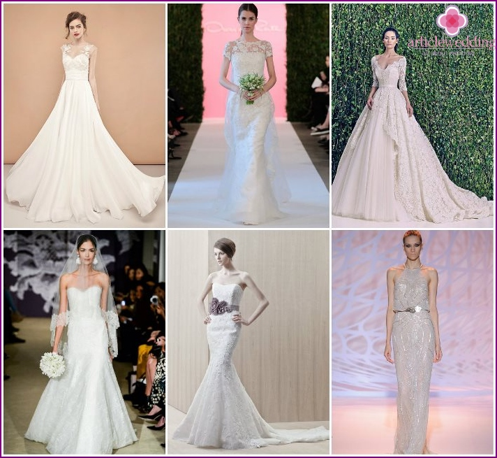 Wedding dresses 2016 from the famous fashion houses