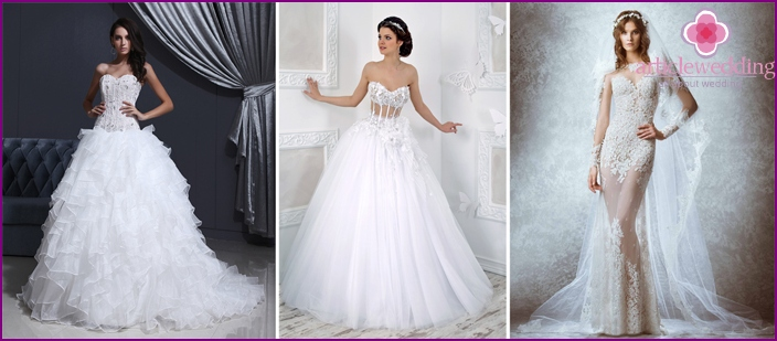 Styles of wedding dresses