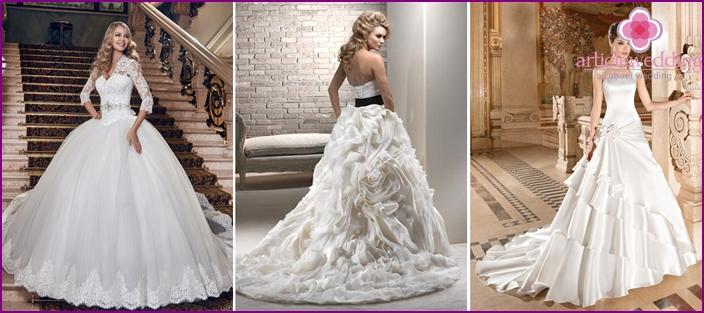 Ballroom dresses models