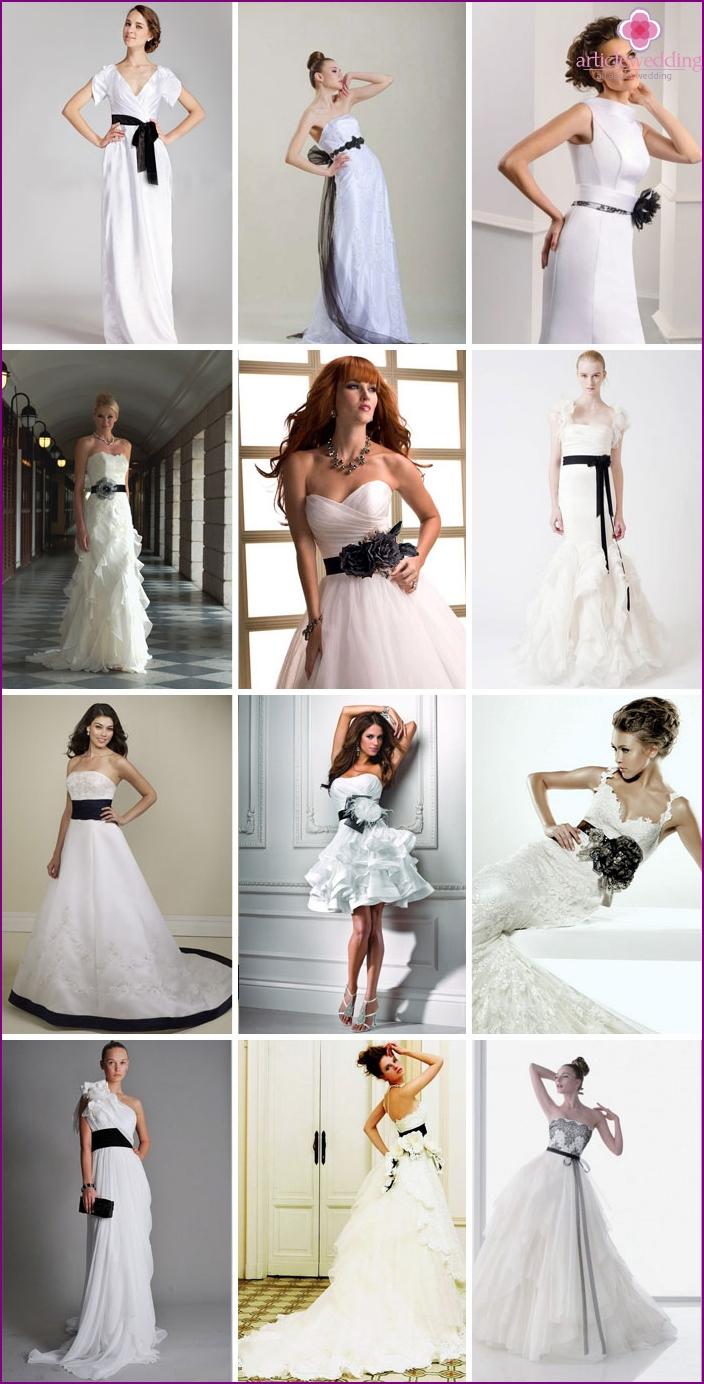 Options ceremonial dresses for wedding