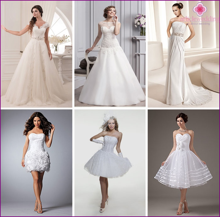 Wedding dresses for girls low