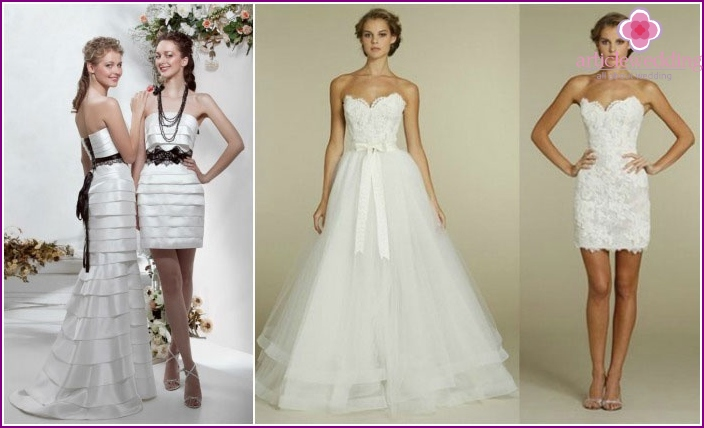 Wedding wedding dresses-transformers