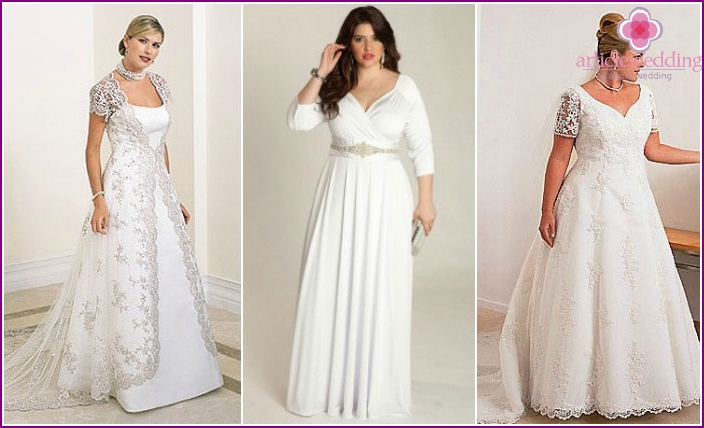 Elegant dresses for a wedding full of girls