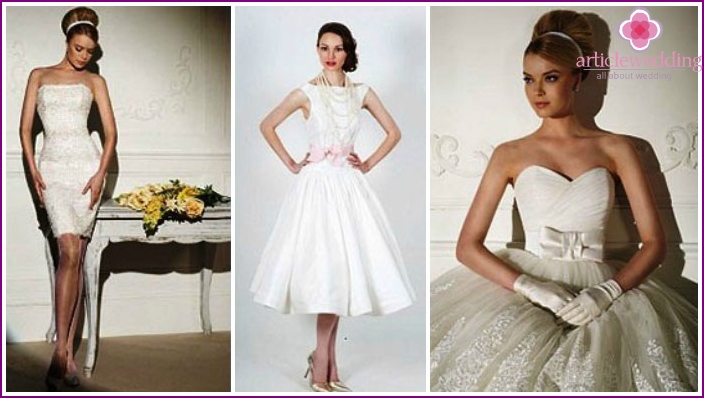 Wedding Dresses 60s