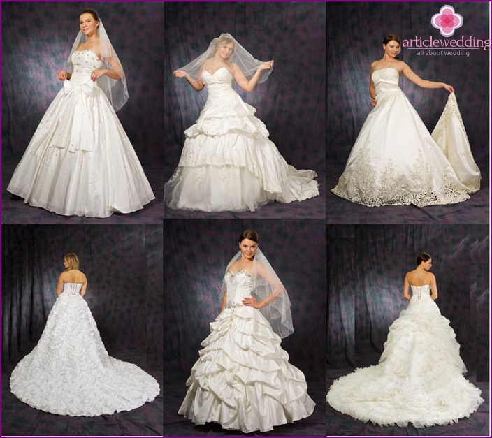Wedding dress for brides miniature