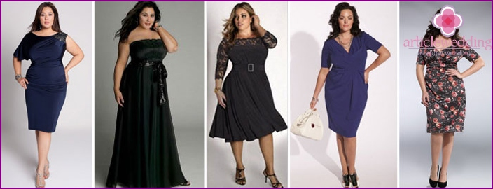Elegant dresses for obese women