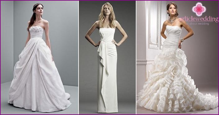 Easy on the wedding garment to drape