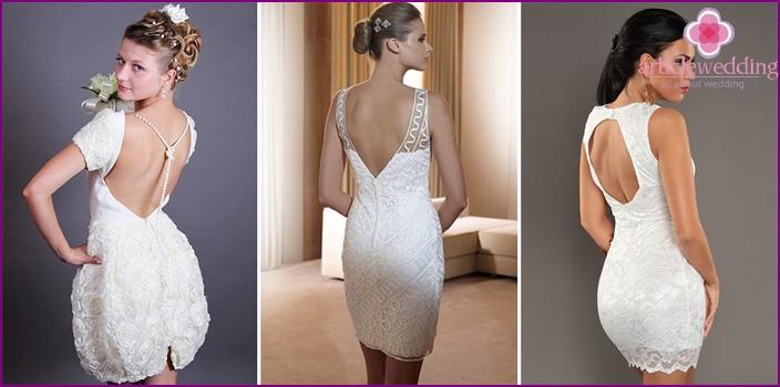 Bold short dresses
