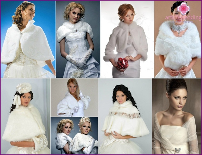 Wedding coats and capes