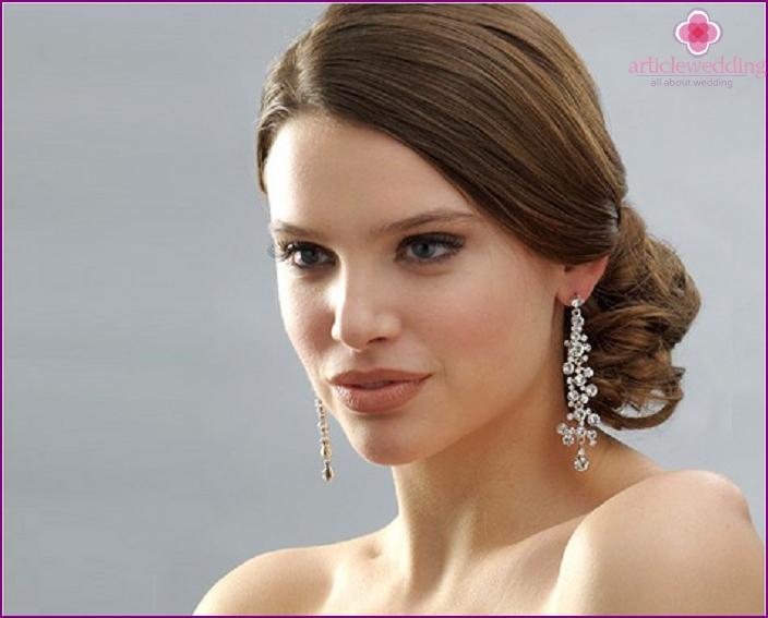Options earrings for wedding
