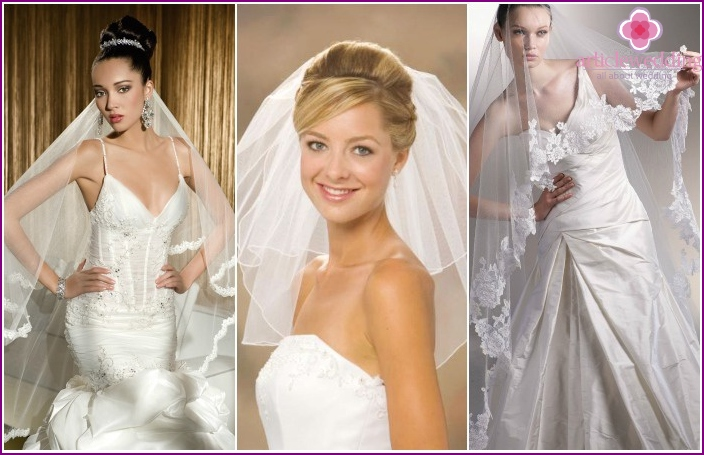 2016 Wedding accessories: veils