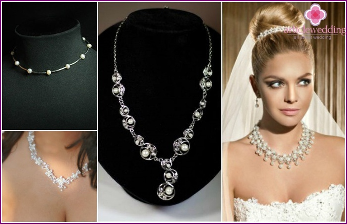 2016 Wedding accessories: necklace