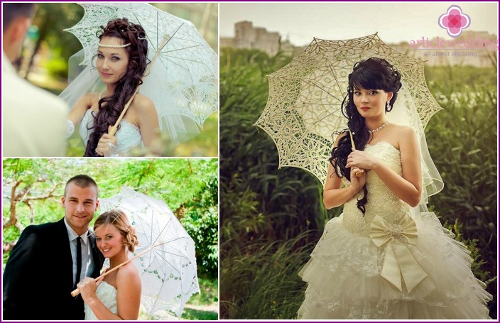 Wedding Accessories 2016: umbrella