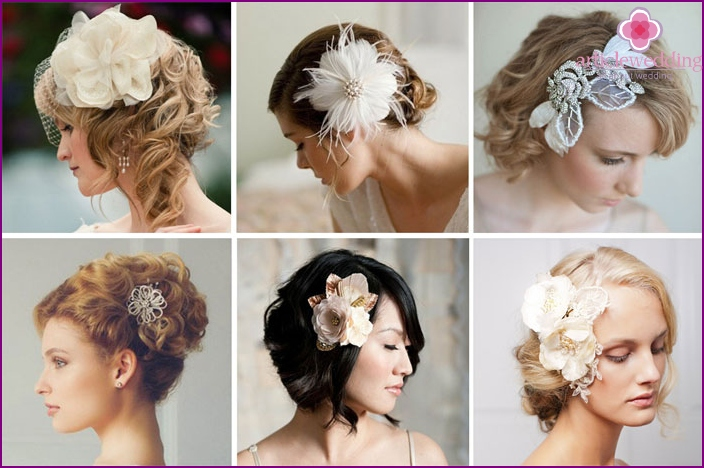 Decorative clip decoration wedding hairstyles