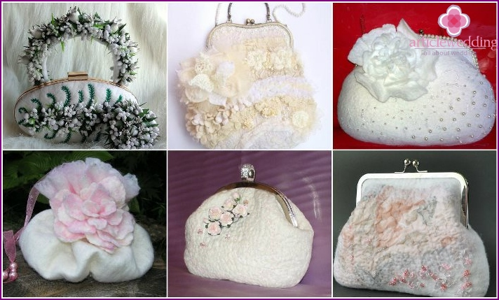 Felting bag for wedding image