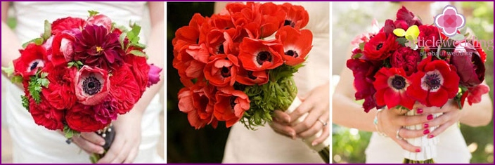 Wedding poppies