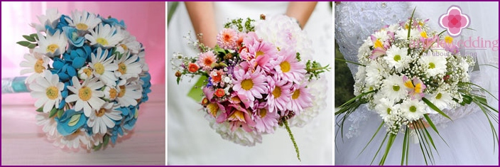 Daisies on wedding