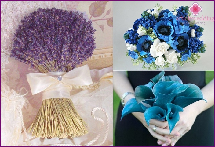 Delicate lavender is ideal for wedding