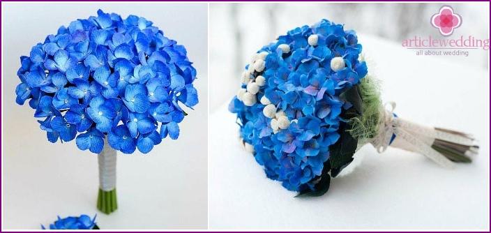 Bright blue monobuket