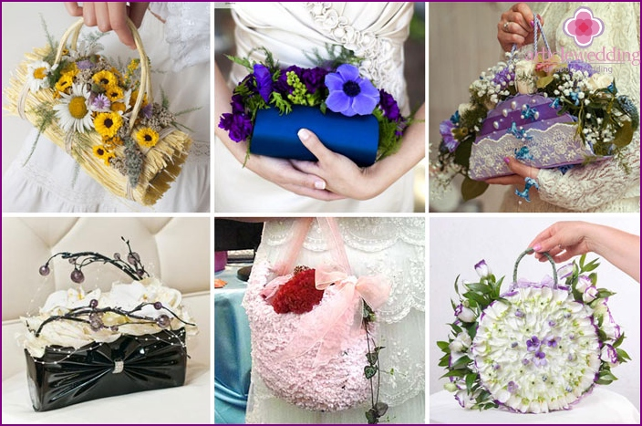 What can replace the bridal bouquet