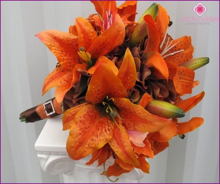 Tiger Lily - the original bouquet