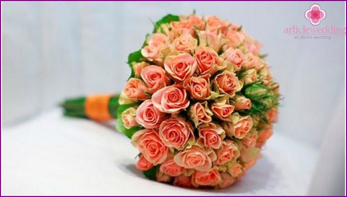 Wedding accessory culprits celebrations of different color roses