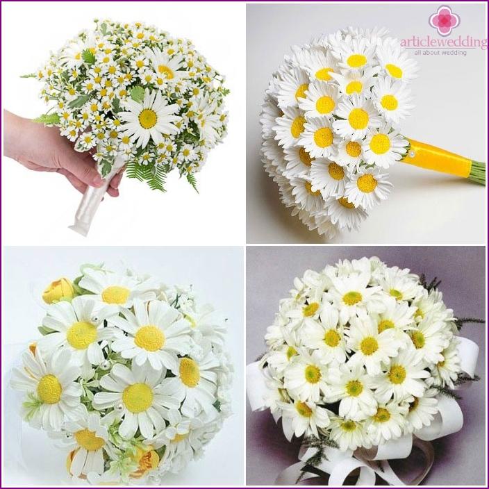 Wedding Bouquet: chamomile