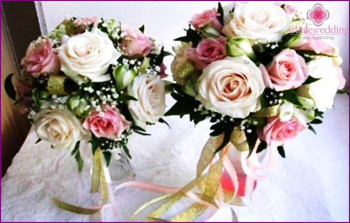 Wedding bouquet understudy