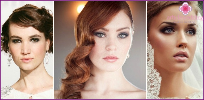 Make-up Smoky Eyes for wedding