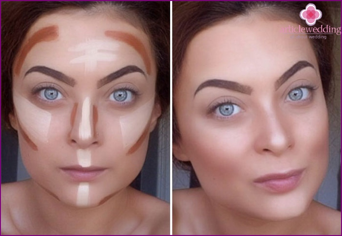 Contouring for accurate facial features
