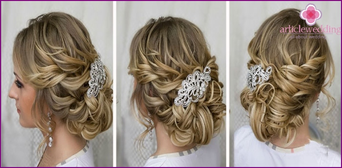 Beautiful hair clips for young