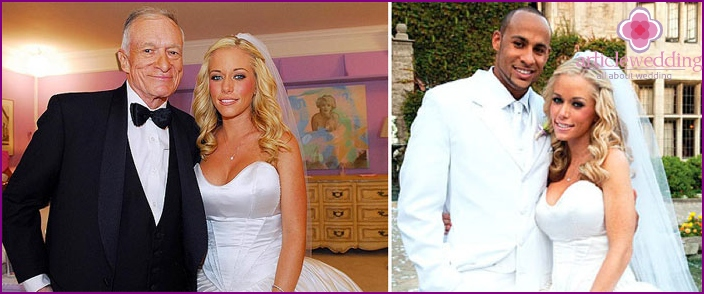 Waterfall curls at the wedding of Kendra Wilkinson